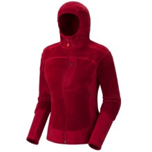 Mountain Hardwear Monkey Lite Fleece Jacket - Polartec®, Thermal Pro® (For Women) in Thunderbird Red - Closeouts