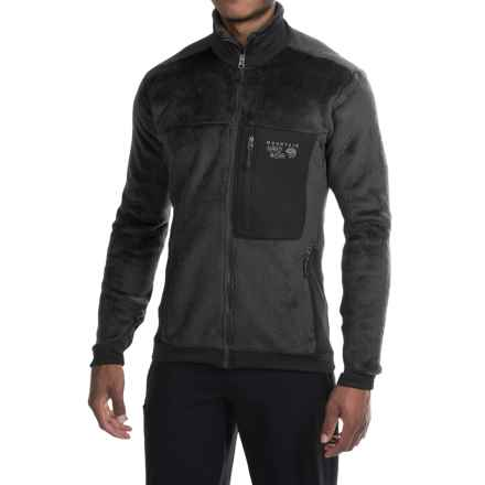 Mountain Hardwear Monkey Man 200 Jacket - Polartec® Thermal Pro® Fleece (For Men) in Black/Black - Closeouts