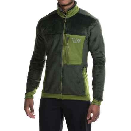 Mountain Hardwear Monkey Man 200 Jacket - Polartec® Thermal Pro® Fleece (For Men) in Greenscape/Amphibian - Closeouts