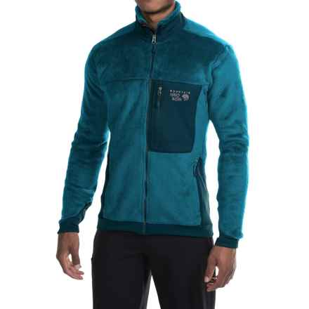 Mountain Hardwear Monkey Man 200 Jacket - Polartec® Thermal Pro® Fleece (For Men) in Phoenix Blue/Hardwear Navy - Closeouts