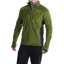 Mountain Hardwear Monkey Man Grid II Jacket - Polartec® Fleece (For Men) in Amphibian/Shark - Closeouts