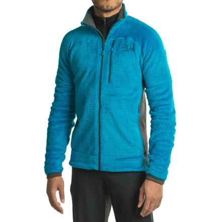 Mountain Hardwear Monkey Man Grid II Jacket - Polartec® Fleece (For Men) in Dark Compass - Closeouts