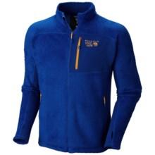 Mountain Hardwear Monkey Man Jacket - Grid Fleece (For Men) in Azul - Closeouts
