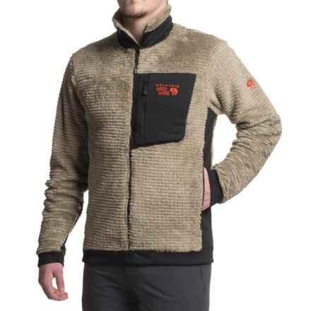 Mountain Hardwear Monkey Man Jacket - Polartec® Fleece (For Men) in Khaki - 2nds