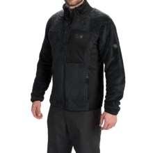 Mountain Hardwear Monkey Man Jacket - Polartec® Thermal Pro® (For Men) in Black/Black - Closeouts