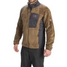 Mountain Hardwear Monkey Man Jacket - Polartec® Thermal Pro® (For Men) in Cigar - Closeouts