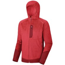 Mountain Hardwear Monkey Man Lite Jacket - Polartec® Thermal Pro® (For Men) in Red/Thunderbird Red - Closeouts