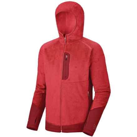 Mountain Hardwear Monkey Man Lite Jacket - Polartec® Thermal Pro® (For Men) in Red/Thunderbird Red - Closeouts