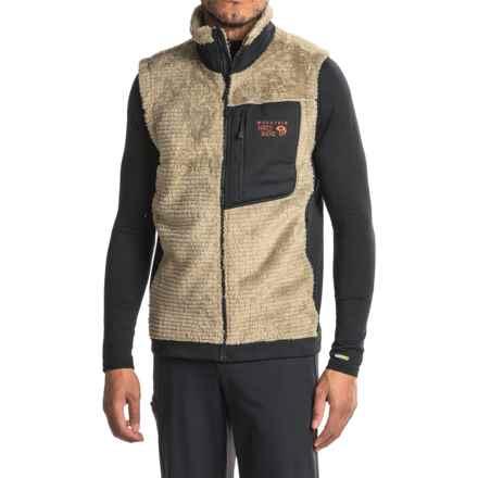 Mountain Hardwear Monkey Man Polartec® Fleece Vest (For Men) in Khaki - Closeouts