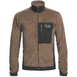 Mountain Hardwear Monkey Man Polartec® Thermal Pro® Fleece Jacket (For Men) in Cigar