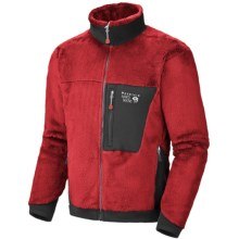 Mountain Hardwear Monkey Man Polartec® Thermal Pro® Fleece Jacket (For Men) in Thunderbird Red - Closeouts