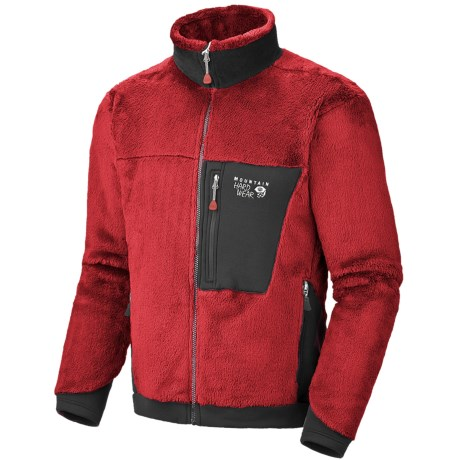 Mountain Hardwear Monkey Man Polartec® Thermal Pro® Fleece Jacket (For Men) in Grill