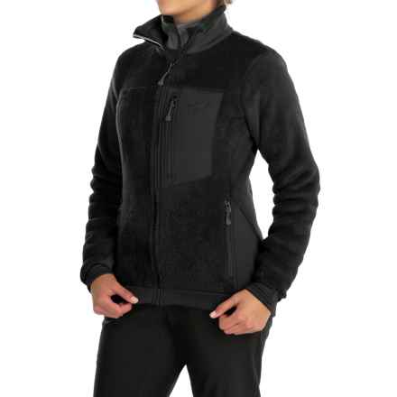 Mountain Hardwear Monkey Woman Fleece Jacket (For Women) in Black/Black - Closeouts