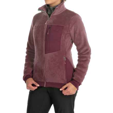 Mountain Hardwear Monkey Woman Fleece Jacket (For Women) in Purple Plum - Closeouts