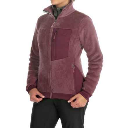 Mountain Hardwear Monkey Woman Fleece Jacket (For Women) in Purple Plum - Closeouts
