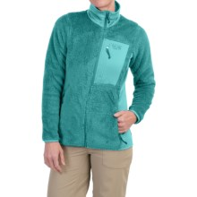 Mountain Hardwear Monkey Woman Fleece Jacket (For Women) in Sea Level/Geyser - Closeouts