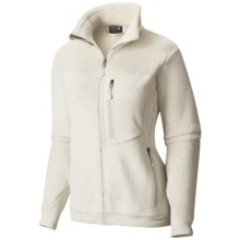 Mountain Hardwear Monkey Woman Fleece Jacket (For Women) in Stone - Closeouts