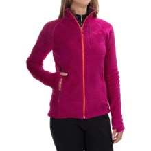 Mountain Hardwear Monkey Woman Grid II Jacket - Polartec® Fleece (For Women) in Deep Blush - Closeouts