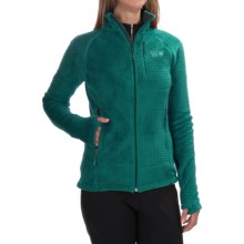 Mountain Hardwear Monkey Woman Grid II Jacket - Polartec® Fleece (For Women) in Teal Green - Closeouts