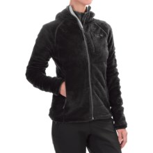 Mountain Hardwear Monkey Woman Grid II Polartec® Fleece Jacket - Hooded (For Women) in Black - Closeouts