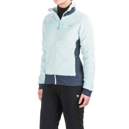Mountain Hardwear Monkey Woman Polartec® Fleece Jacket (For Women) in Gossamer Blue/Zinc - Closeouts