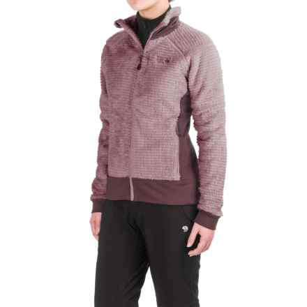 Mountain Hardwear Monkey Woman Polartec® Fleece Jacket (For Women) in Purple Plum/Marionberry - Closeouts