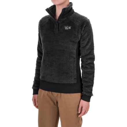 Mountain Hardwear Monkey Woman Polartec® Fleece Shirt - Long Sleeve (For Women) in Black - Closeouts