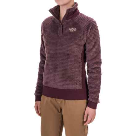 Mountain Hardwear Monkey Woman Polartec® Fleece Shirt - Long Sleeve (For Women) in Purple Plum/Marionberry - Closeouts