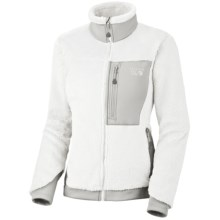 Mountain Hardwear Monkey Women Fleece Jacket - Polartec® Thermal Pro®, Power Stretch® (For Women) in Casper/Cool Grey - Closeouts