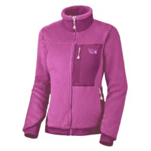 Mountain Hardwear Monkey Women Fleece Jacket - Polartec® Thermal Pro®, Power Stretch® (For Women) in Cerise/Berry Soda - Closeouts