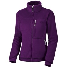 Mountain Hardwear Monkey Women Fleece Jacket - Polartec® Thermal Pro®, Power Stretch® (For Women) in Iris Glow/Iris Glow - Closeouts