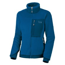 Mountain Hardwear Monkey Women Fleece Jacket - Polartec® Thermal Pro®, Power Stretch® (For Women) in Jewel/Jewel - Closeouts