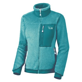 Mountain Hardwear Monkey Women Fleece Jacket - Polartec® Thermal Pro®, Power Stretch® (For Women) in Lake Blue/Adriatic