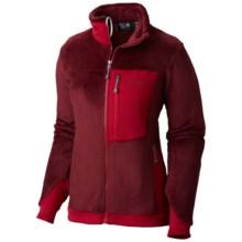 Mountain Hardwear Monkey Women Polartec® 200 Thermal Pro® Fleece Jacket (For Women) in Rich Wine/Pomegranate - Closeouts