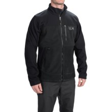 Mountain Hardwear Mountain Tech AirShield Core Fleece Jacket (For Men) in Black/Black - Closeouts