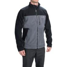 Mountain Hardwear Mountain Tech AirShield Core Fleece Jacket (For Men) in Graphite/Black - Closeouts