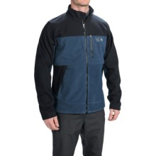 Mountain Hardwear Mountain Tech AirShield Core Fleece Jacket (For Men) in Hardwear Navy/Black - Closeouts