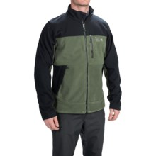 Mountain Hardwear Mountain Tech AirShield Core Fleece Jacket (For Men) in Surplus Green/Black - Closeouts