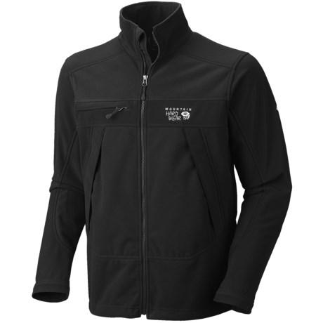 Mountain Hardwear Mountain Tech AirShield Fleece Jacket (For Men) in Black/Black
