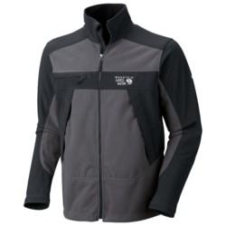 Mountain Hardwear Mountain Tech AirShield Fleece Jacket (For Men) in Grill/Black