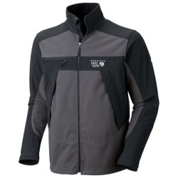 Mountain Hardwear Mountain Tech AirShield Fleece Jacket (For Men) in Royal/Collegiate Navy