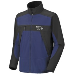 Mountain Hardwear Mountain Tech AirShield Fleece Jacket (For Men) in Grill/Black