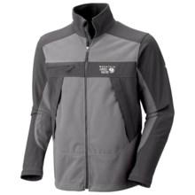 Mountain Hardwear Mountain Tech AirShield Fleece Jacket (For Men) in Titanium/Shark - Closeouts