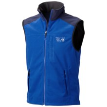 Mountain Hardwear Mountain Tech AirShield Fleece Vest (For Men) in Azul/Collegiate Navy - Closeouts