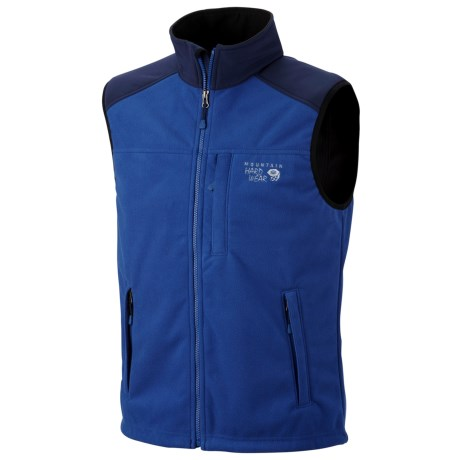 Mountain Hardwear Mountain Tech AirShield Fleece Vest (For Men) in Royal/Collegiate Navy