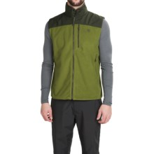 Mountain Hardwear Mountain Tech II Fleece Vest (For Men) in Amphibian/Greenscape - Closeouts