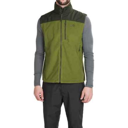 Mountain Hardwear Mountain Tech II Fleece Vest (For Men) in Amphibian/Greenscape - Closeouts