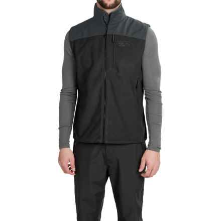 Mountain Hardwear Mountain Tech II Fleece Vest (For Men) in Black - Closeouts