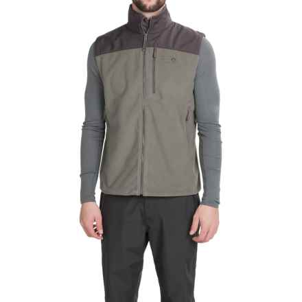 Mountain Hardwear Mountain Tech II Fleece Vest (For Men) in Titanium/Shark - Closeouts