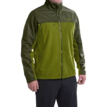 Mountain Hardwear Mountain Tech II Jacket - AirShield Fleece (For Men) in Amphibian/Greenscape - Closeouts
